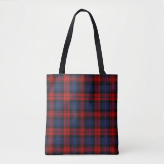 Scottish Clan MacLachlan McLaughlin Tartan Plaid Tote Bag