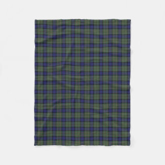 Scottish Clan MacLaren Classic Tartan Fleece Blanket