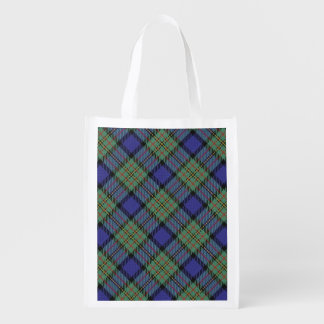 Scottish Clan MacLaren Family Tartan Reusable Grocery Bag