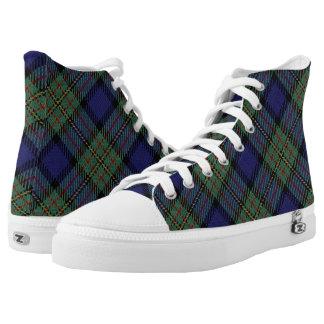 Scottish Clan MacLaren Tartan Plaid High Tops