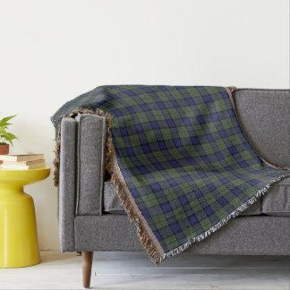 Scottish Clan MacLaren Tartan Throw Blanket