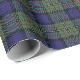 Scottish Clan MacLaren Tartan Wrapping Paper