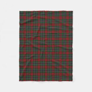 Scottish Clan MacLean Classic Tartan Fleece Blanket