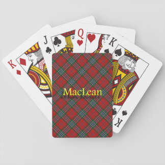 Scottish Clan MacLean Playing Cards