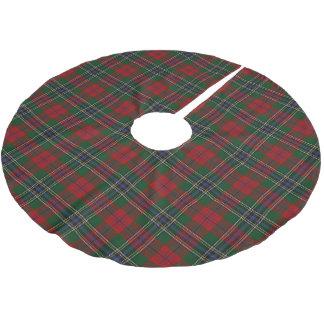 Scottish Clan MacLean Tartan Brushed Polyester Tree Skirt
