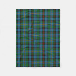 Scottish Clan MacLeod Classic Tartan Fleece Blanket