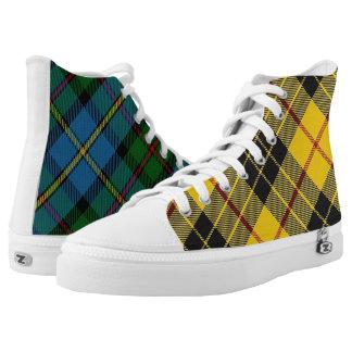 Scottish Clan MacLeod Classic Two in One Tartan High Tops
