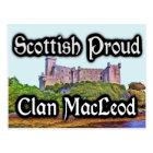 Scottish Clan MacLeod Dunvegan Castle Postcard