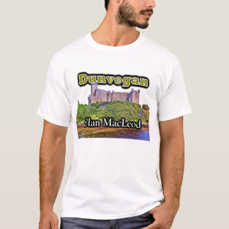 Scottish Clan MacLeod Dunvegan Castle T-Shirt