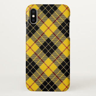 Scottish Clan MacLeod of Lewis Tartan Plaid iPhone X Case