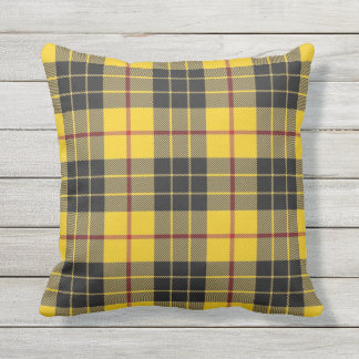 Scottish Clan MacLeod of Lewis Tartan Throw Pillow