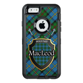 Scottish Clan MacLeod Swords and Shield Tartan OtterBox iPhone 6/6s Case