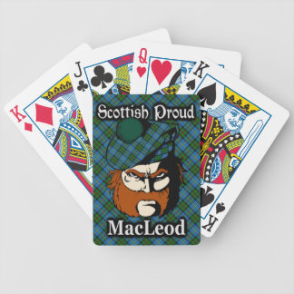 Scottish Clan MacLeod Tartan Bicycle Playing Cards