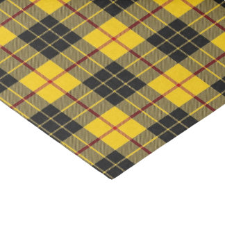Scottish Clan MacLeod Tartan Plaid Tissue Paper