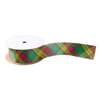 Scottish Clan MacMillan Classic Colorful Tartan Satin Ribbon