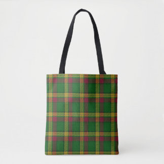 Scottish Clan MacMillan Tartan Plaid Tote Bag