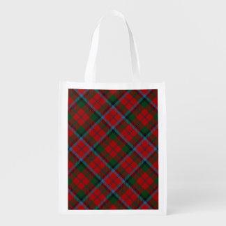 Scottish Clan MacNachtan Family Tartan Reusable Grocery Bag