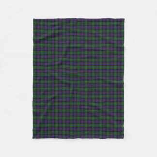 Scottish Clan Malcolm Classic Tartan Fleece Blanket