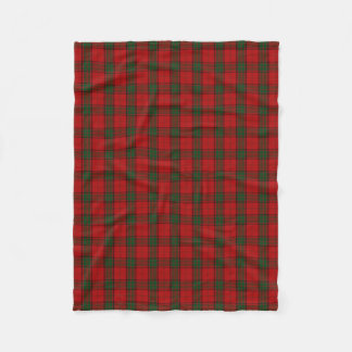 Scottish Clan Maxwell Classic Tartan Fleece Blanket