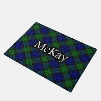 Scottish Clan McKay MacKay Tartan Doormat