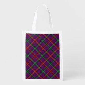 Scottish Clan Montgomery Family Tartan Grocery Bag