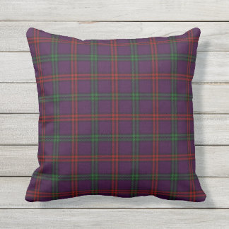 Scottish Clan Montgomery Tartan Throw Pillow