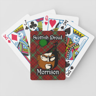 Scottish Clan Morrison Tartan Deck Bicycle Playing Cards