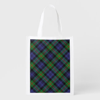 Scottish Clan Murray Family Tartan Reusable Grocery Bag