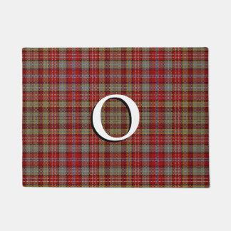 Scottish Clan Ogilvie Ogilvy Tartan Doormat