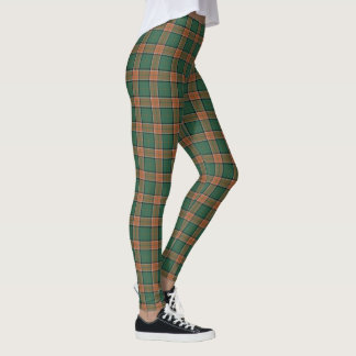 Scottish Clan Pollock Tartan Leggings