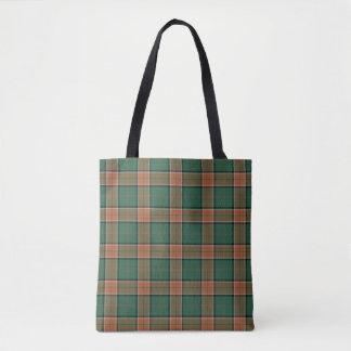 Scottish Clan Pollock Tartan Plaid Tote Bag