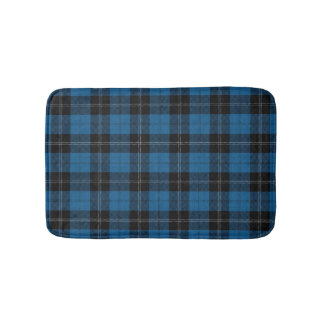 Scottish Clan Ramsay Ramsey Blue Hunting Tartan Bath Mat