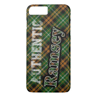 Scottish Clan Ramsey Ramsay Orange Hunting Tartan iPhone 7 Plus Case