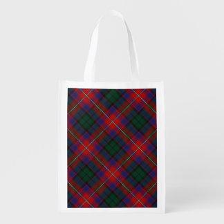 Scottish Clan Rattray Family Tartan Reusable Grocery Bag