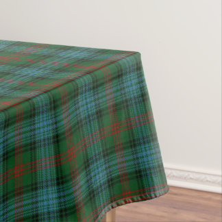 Scottish Clan Ross Tartan Tablecloth