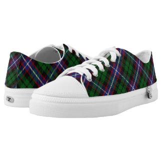 Scottish Clan Russell Tartan Low-Top Sneakers