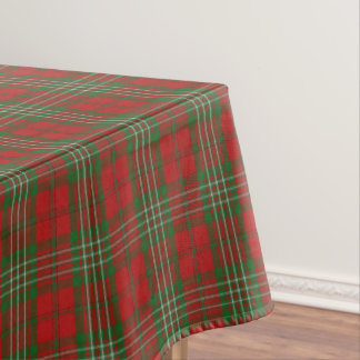 Scottish Clan Scott Tartan Tablecloth