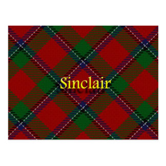 Scottish Clan Sinclair Postcard