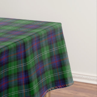 Scottish Clan Sutherland Tartan Tablecloth