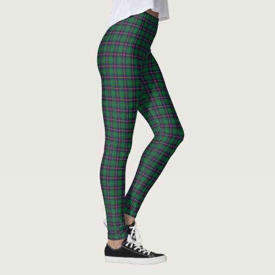 Scottish Clan Young Tartan Leggings