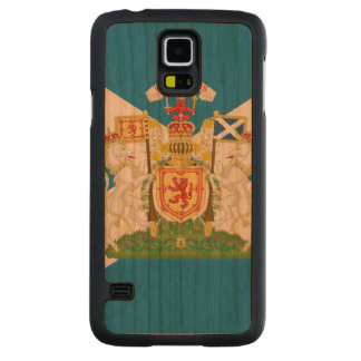 Scottish Coat of Arms and Flag -.png Cherry Galaxy S5 Slim Case