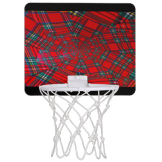 scottish coloured vortex  Mini Basketball Hoop