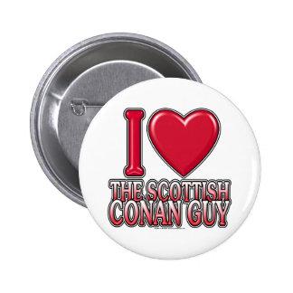 Scottish Conan Guy 2 Inch Round Button