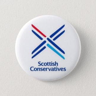 Scottish Conservatives 2 Inch Round Button