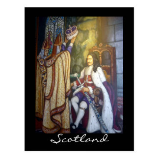 scottish coronation postcard