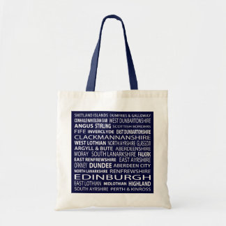 Scottish Counties Tote Bag