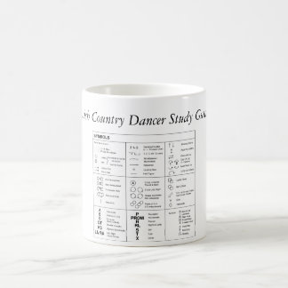 Scottish Country Dancer Study Guide Mug