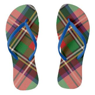 Scottish Custom Adult, Slim Straps Flip-flops Flip Flops