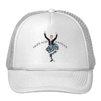 Scottish Dancer Highland Fling Trucker Hats