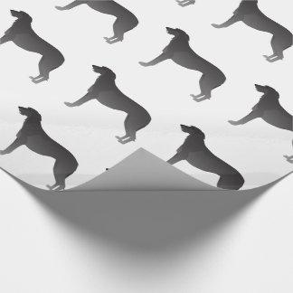 Scottish Deerhound Basic Dog Breed Silhouette